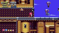 Sonic and Knuckles in Flying Battery Zone