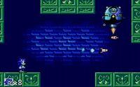 StH (SMS) Битва с боссом в Labyrinth Zone (8-бит)