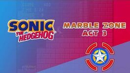 Marble Zone Act 3 - Sonic the Hedgehog
