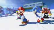 Mario & Sonic at the Olympic Winter Games - Opening - Screenshot 12