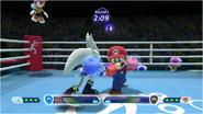 Mario & Sonic at the Rio 2016 Olympic Games - Silver VS Mario Boxing