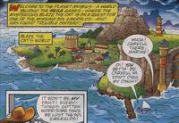 Seagull Island Archie Comics