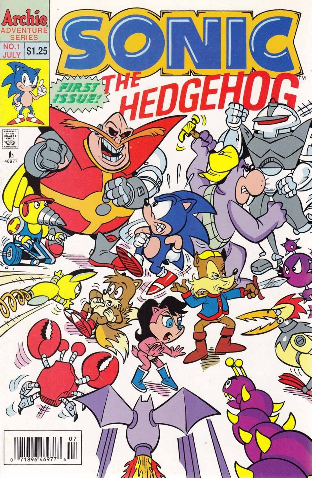 Image result for archie sonic issue 1