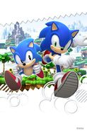 Sonic 20th Anniversary Generations Wallpaper