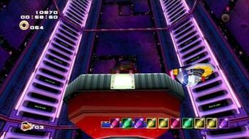 Sonic Adventure 2 (PS3) Cannon's Core Mission 2 A Rank