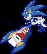 Sonic SRiders art 2