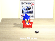 Sonic Team 3D wallpaper 1996 chair