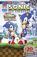 Archie Sonic the Hedgehog Issue 230 Back Cover