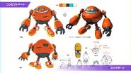 Concept artwork - Sonic Colors - Nintendo DS - 025 - Egg Pawn
