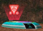 Egg Carrier Island teleporter