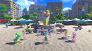 Mario Sonic Rio Wii U Beach 01