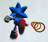 Sega Calendar 1998 Sonic 1