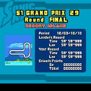 Sonic Kart 3DX 3