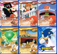 Sonic X tcg Rare 101-105
