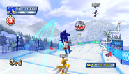 Mario Sonic Olympic Winter Games Gameplay 043