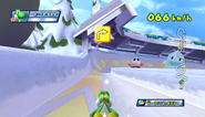 Mario Sonic Olympic Winter Games Gameplay 088