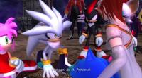 Sonic 2006 - Silver y Elise