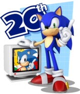 Sonic Channel 3D Sonic art 6