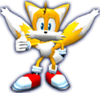Sonic Rivals 2 - Miles Tails Prower model