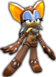 Sonic Rivals 2 - Rouge the Bat costume 4