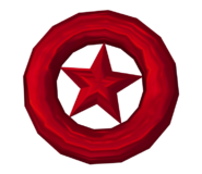 Colors Wii Model Red Star Ring
