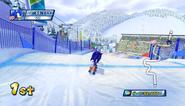 Mario Sonic Olympic Winter Games Gameplay 050