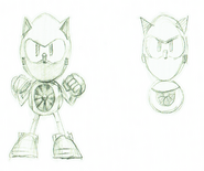 Metal Sonic CD concepts 3