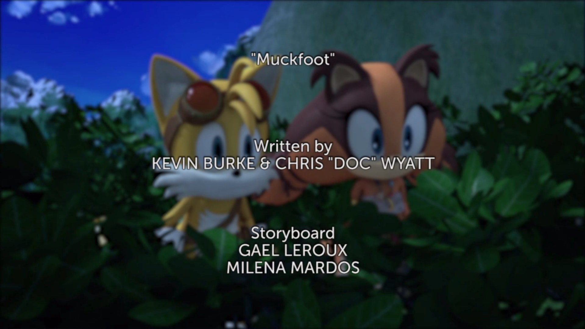Muckfoot Title Card