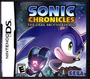 Nintendo DS Sonic Chronicles The Dark Brotherhood Front Cover
