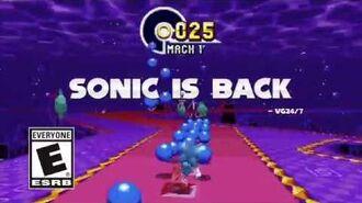 Sonic Mania - Accolades Trailer