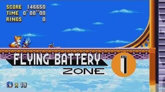 Sonic Mania - Flying Battery Zone - Sonic & Tails
