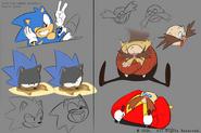 Sonic Mania Adventures koncept 10