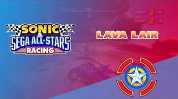 Lava Lair - Sonic & Sega All-Stars Racing