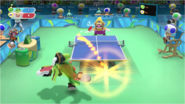 Mario & Sonic at the Rio 2016 Olympic Games - Table Tennis Vector with Super Smash