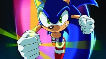 OFFICIAL SONIC X Ep1 - Chaos Control Freaks