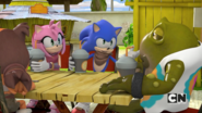 Og and Team Sonic at Meh Burger