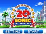 Sonic 20th Anniversary/Gallery