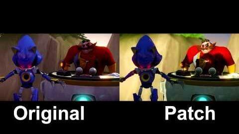 Sonic Boom patch comparison
