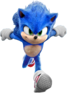 Sonic Film Sonic Artwork 4