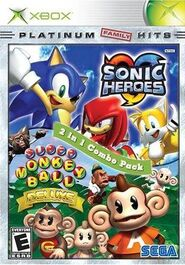 Sonic Heroes, Super Monkey Ball Deluxe 2 in 1 combo pack
