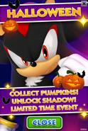 Sonic Jump Fever - Halloween Event Poster