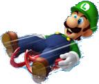 Winter Olympics Luigi 3