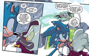 IDW 14 Sonic vs Starline