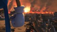 Project Sonic 2017 - Vista de destruição