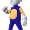 Sonic Costume (Body) M