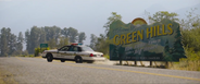 Green Hills sign