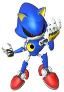 Metal Sonic en el Sonic 4 Episodio 2