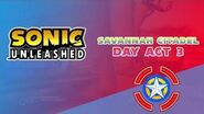 Savannah Citadel Day Act 3 - Sonic Unleashed