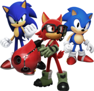 Sonic Forces main characters
