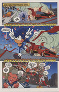 Sonic X Issue 1 page 3